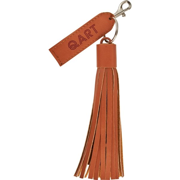 Promotional Tassel 3- in -1 Fabric Cable
