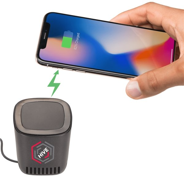 Promotional Jack Bluetooth Speaker and Wireless Charging Pad