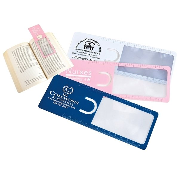 Promotional Readers Mark Bookmark Magnifier