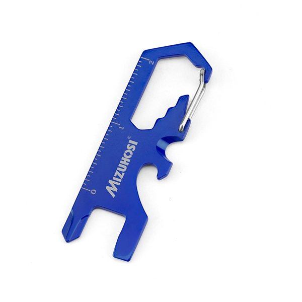 Promotional 8- in -1 stainless steel Carabiner Tool