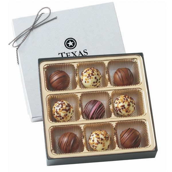 Promotional Truffle Gift Box With 9 Truffles