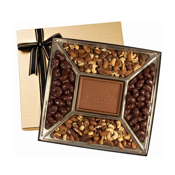 Promotional Medium Custom Chocolate Confections Gift Box
