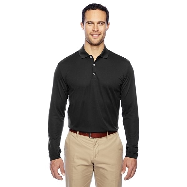 Promotional adidas Golf Mens climalite Long - Sleeve Polo
