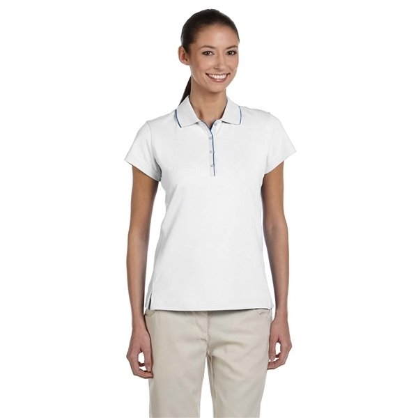 Promotional adidas Golf Ladies ClimaLite(R) Tour Jersey Short - Sleeve Polo