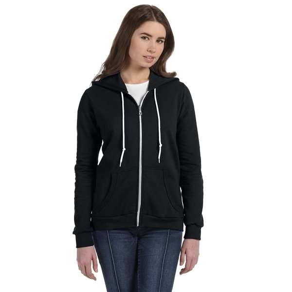 Promotional Anvil Ladies Full - Zip Hooded Fleece