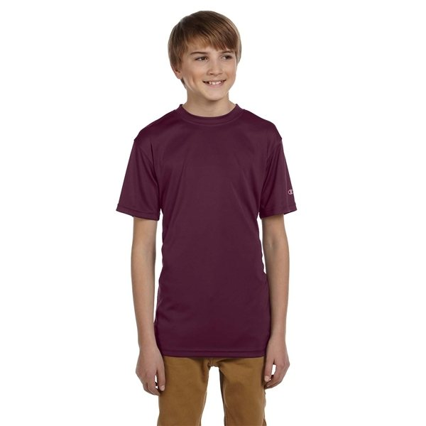 Promotional Champion Double Dry(R) Youth 4.1 oz Interlock T - Shirt