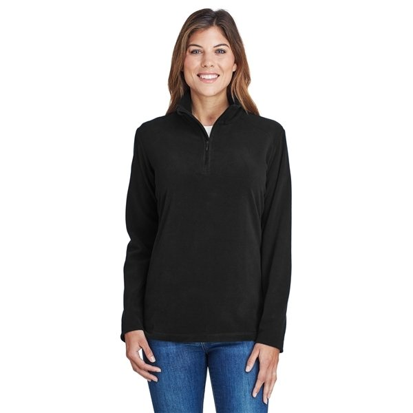 Promotional Columbia Ladies Crescent Valley(TM) Quarter - Zip Fleece