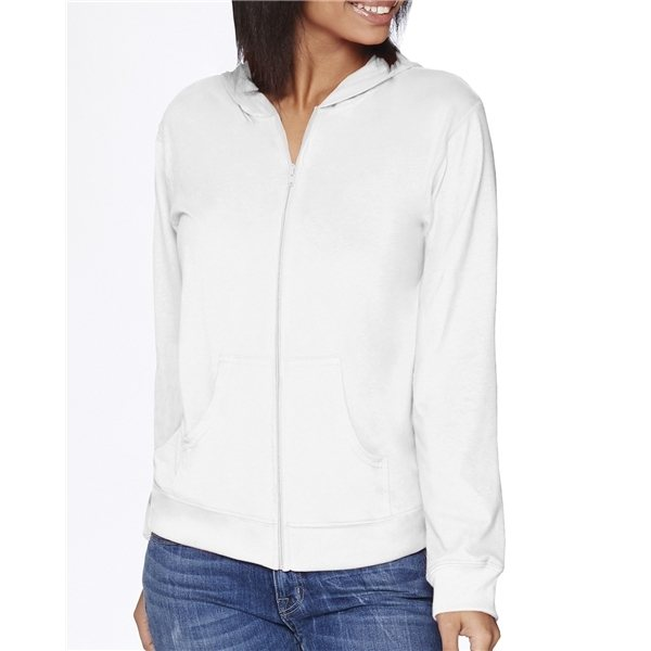 Promotional Next Level Adult Sueded Full - Zip Hoody - 6491