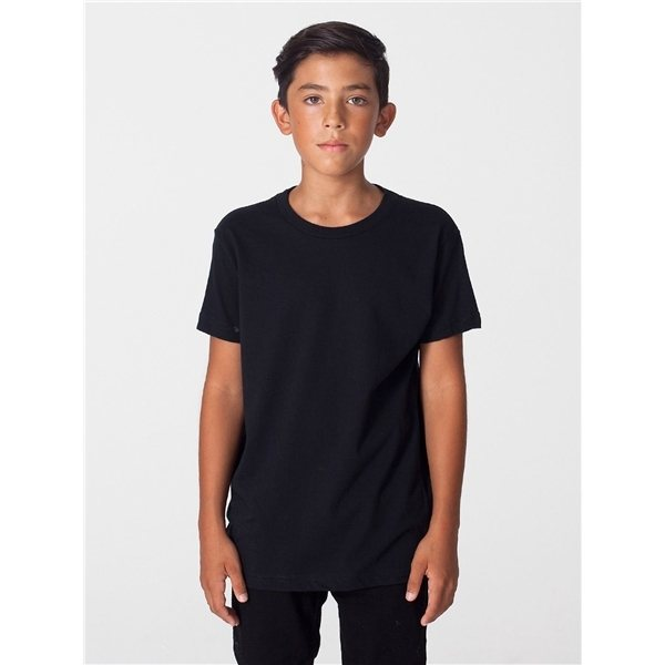 Promotional American Apparel Youth Organic Fine Jersey Short - Sleeve T - Shirt