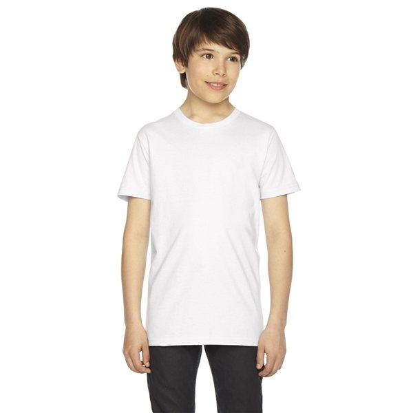 Promotional American Apparel Youth Fine Jersey Short - Sleeve T - Shirt