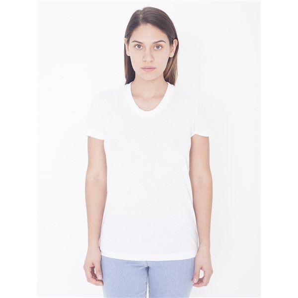 Promotional American Apparel Ladies Sublimation Short - Sleeve T - Shirt