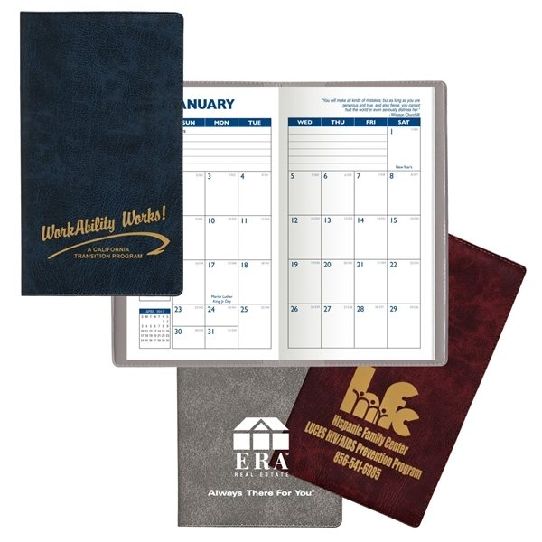 Promotional Executive Monthly Pocket Planner