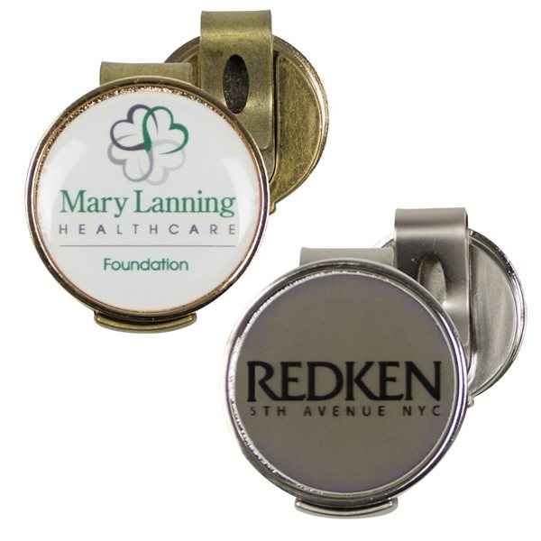 Promotional Magnetic Ball Marker Hat Clip