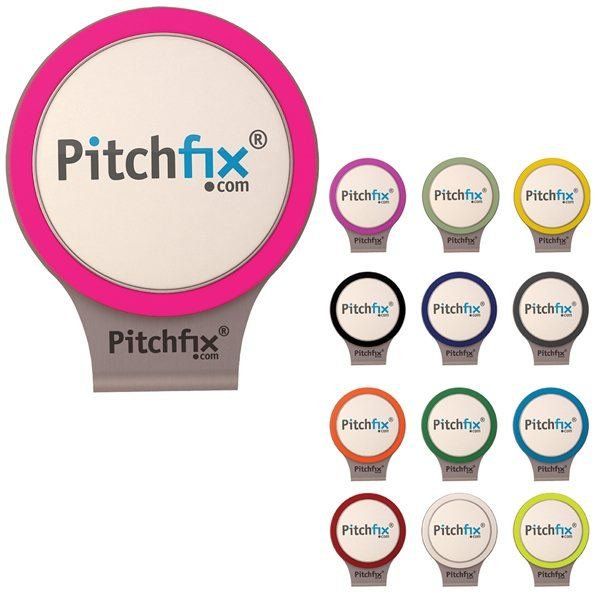Promotional PitchFix Magnetic Ball Marker Hat Clip
