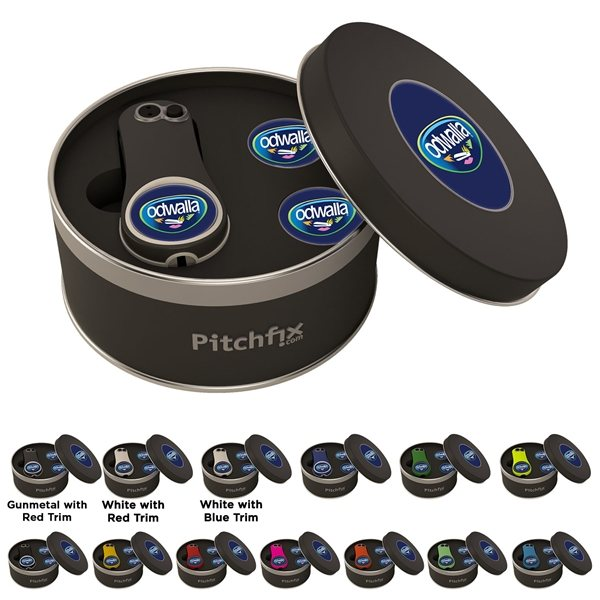 Promotional Pitchfix Fusion 2.5 Tin w / Two Extra Ball Markers
