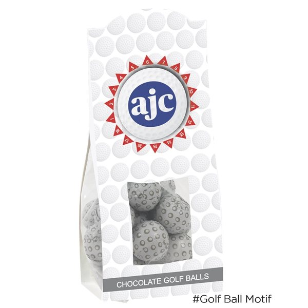 Promotional Par Snack Collection - Chocolate Golf Balls