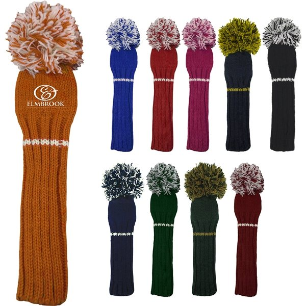Promotional Sunfish Knit Driver Head Cover