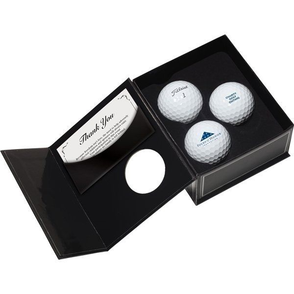 Promotional Titleist(R) 3- Ball Appreciation Box Factory Direct