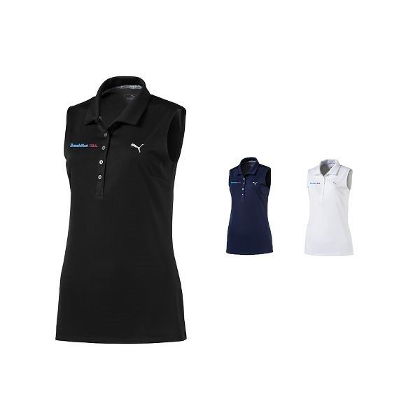 Promotional Ladies Puma Sleeveless Pounce Polo