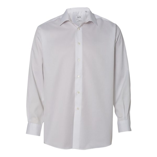 Promotional Calvin Klein - Non - Iron Micro Pincord Long Sleeve Shirt