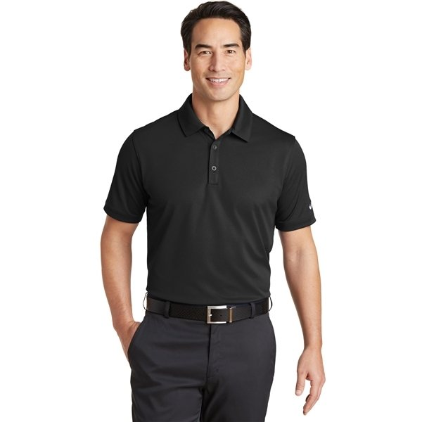 Promotional Nike Dri - FIT Solid Icon Pique Modern Fit Polo
