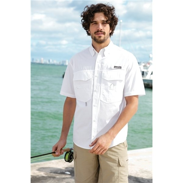 Promotional Eddie Bauer(R) - Short Sleeve Fishing Shirt