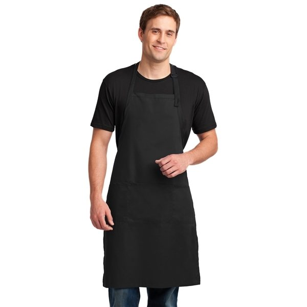 Promotional Port Authority(R) Easy Care Extra Long Bib Apron with Stain Release