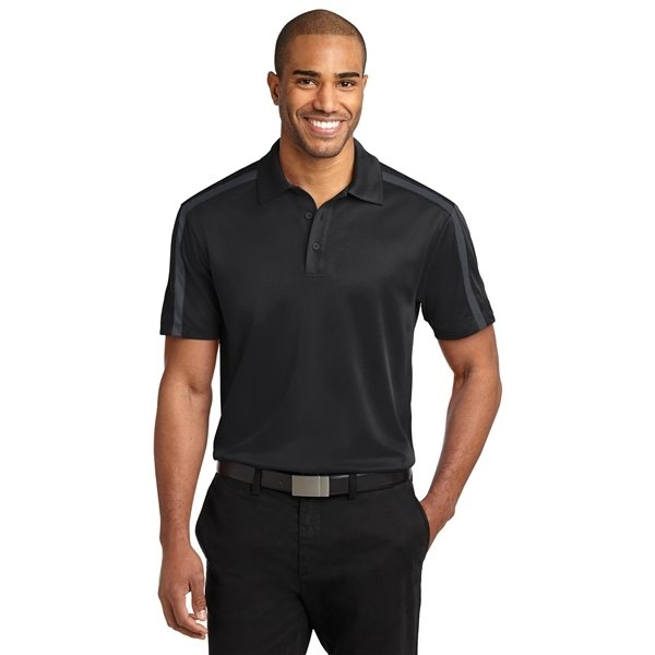 Promotional Port Authority(R) Silk Touch(TM) Performance Colorblock Stripe Polo