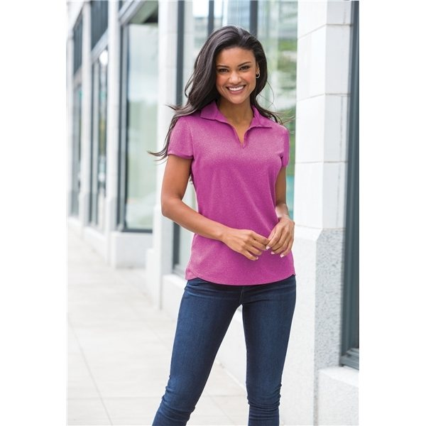 Promotional Port Authority(R) Ladies Trace Heather Polo