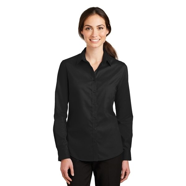 Promotional Port Authority(R) Ladies SuperPro(TM) Twill Shirt