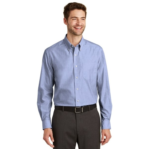Promotional Port Authority(R) Tall Crosshatch Easy Care Shirt