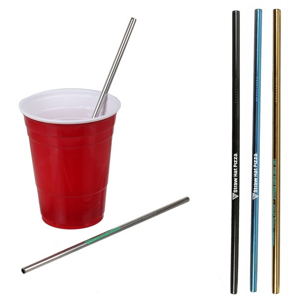 Promotional Stainless Steel Straw
