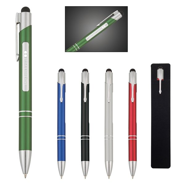 Promotional Argo Light Up Stylus Pen