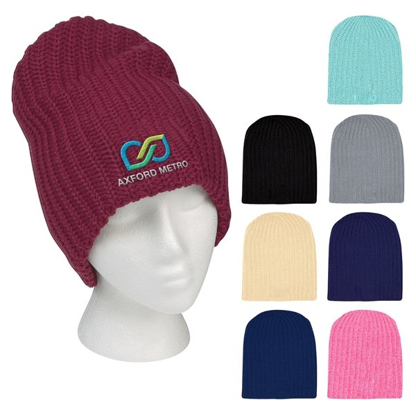 Promotional Grace Collection Slouch Beanie
