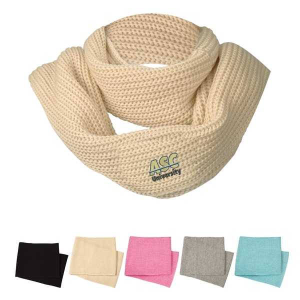 Promotional Grace Collection Infinity Scarf