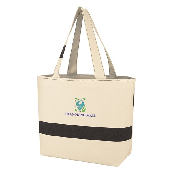 Promotional Cotton Canvas Cabana Tote Bag