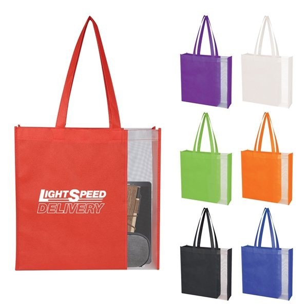 Promotional Glancer Non - Woven Tote Bag