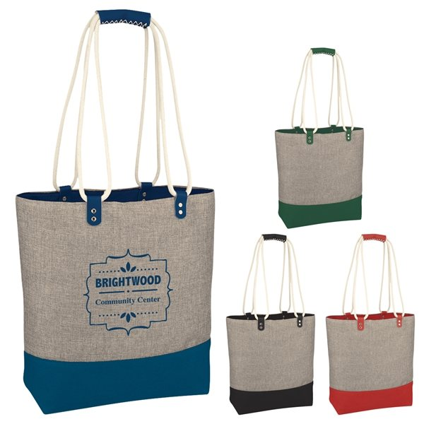 Promotional Scottsdale Heathered Tote Bag