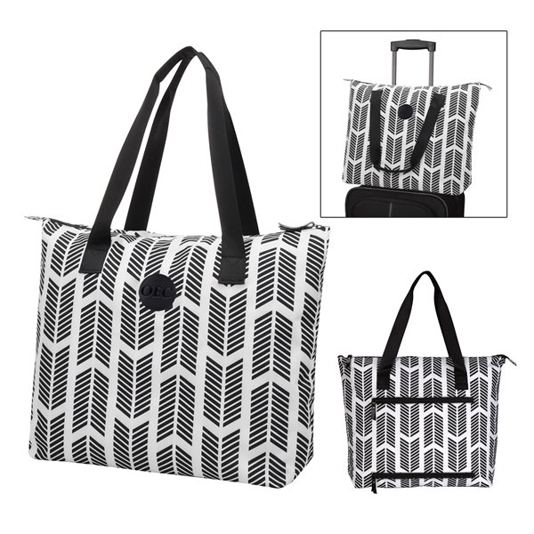 Promotional Chevron Chic Tote Bag