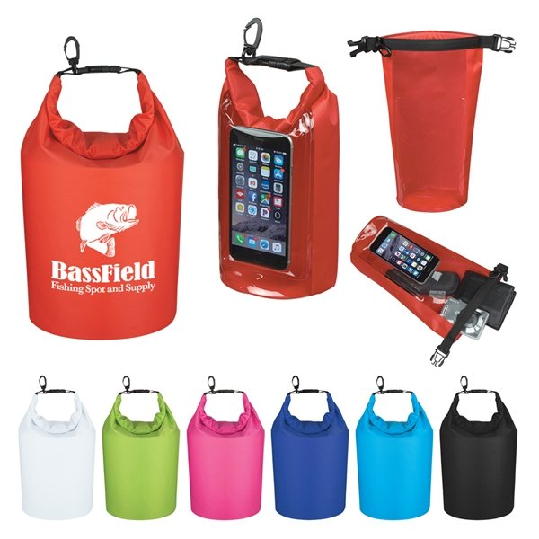 Promotional Waterproof Dry Bag With Window