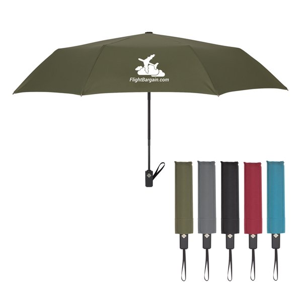 Promotional 44 Arc Sterling Automatic Telescopic Umbrella