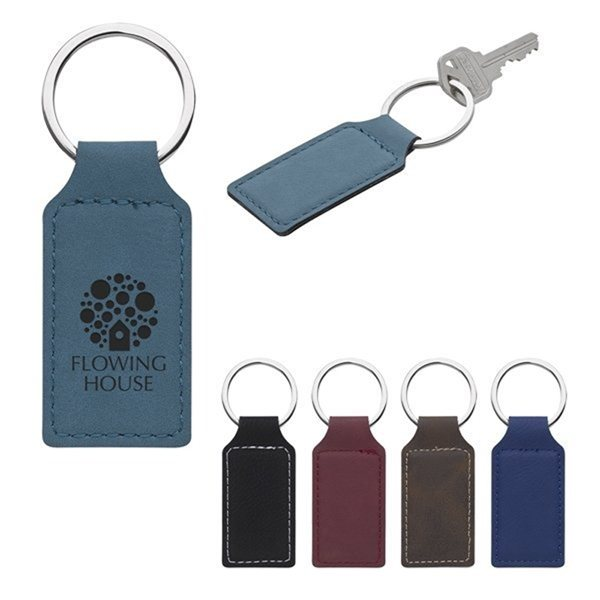 Promotional Belvedere Stitched Key Tag