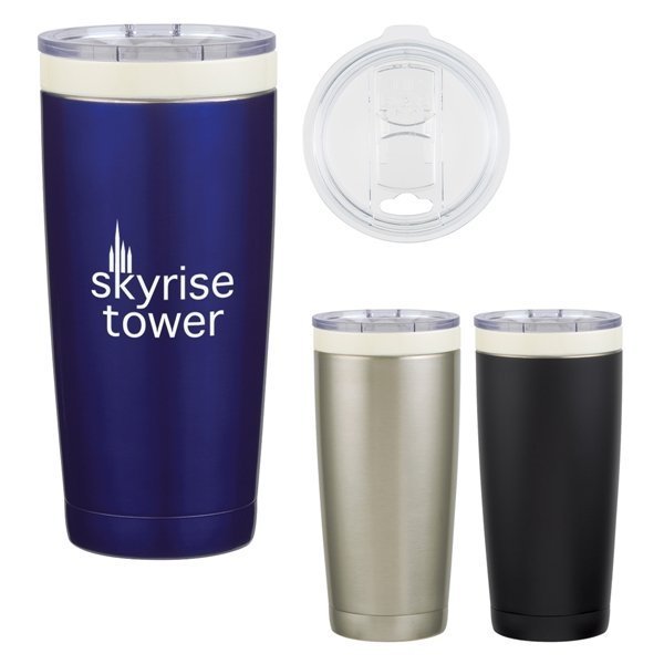 Promotional 22 oz Ceramisteel(TM) Lil Boss Stainless Steel Tumbler