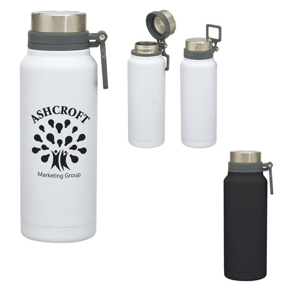 Promotional 40 oz Easton Stainless Steel Growler
