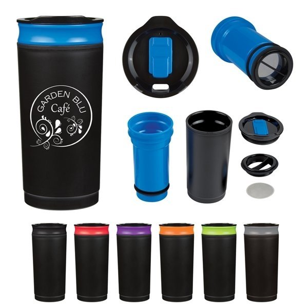 Promotional 16 oz French Press Tumbler