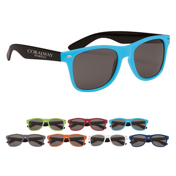Promotional Two - Tone Valencia Malibu Sunglasses