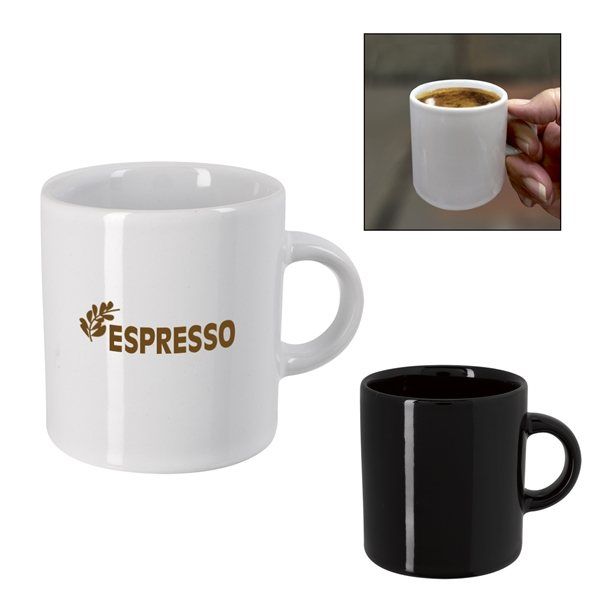 Promotional 3 oz Espresso Ceramic Cup