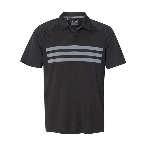 Promotional Adidas - Climacool 3- Stripes Sport Shirt