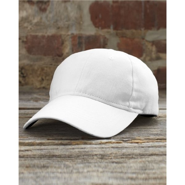 Promotional Anvil - Solid Brushed Twill Cap