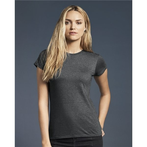 Promotional Anvil - Womens Lightweight Ringspun Fitted T - Shirt